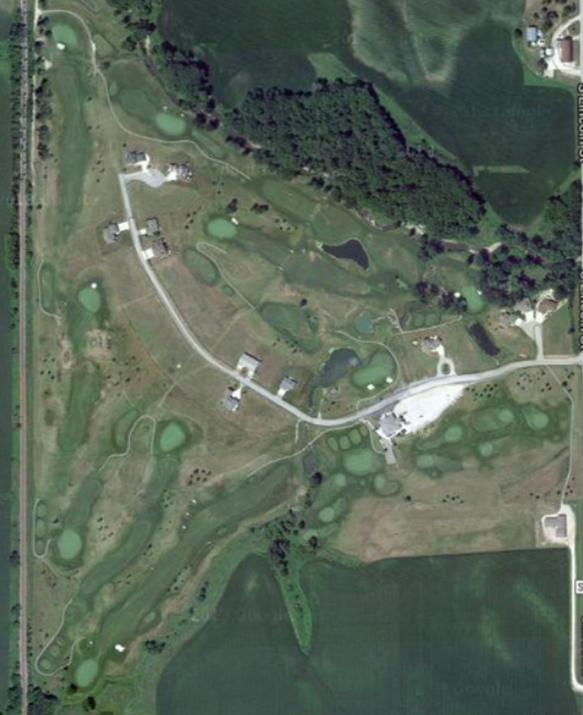 Ridge Stone Golf Map